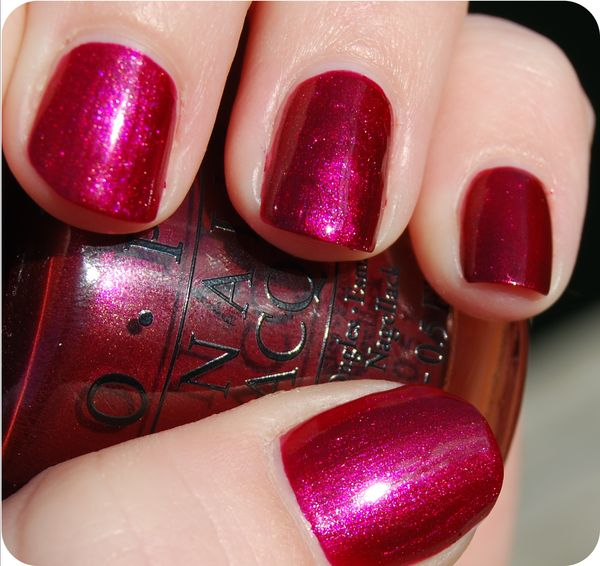 OPI - Cute Little Vixen (Mariah Carey Holiday 2013)