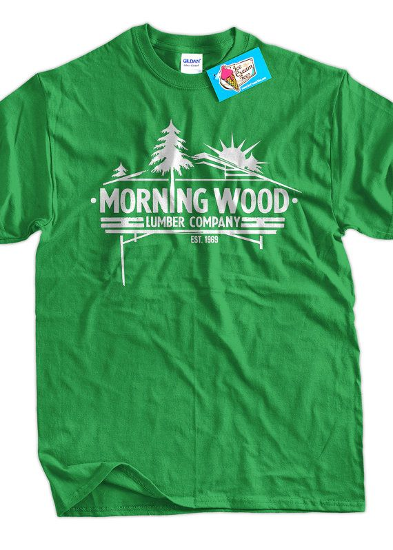 Gifts for Guys Morningwood Lumber Company TShirt by IceCreamTees, $14.99