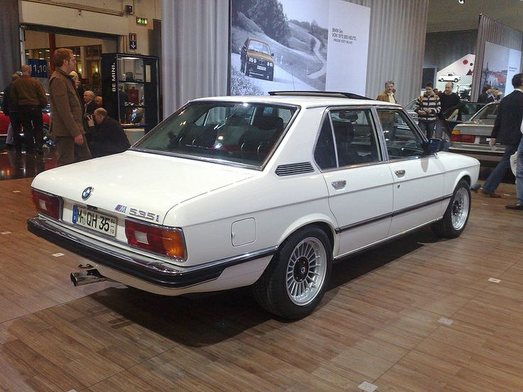 This was the first BMW I ever road in (exbf) BMW E12