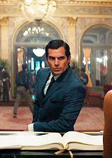 Henry Cavill as Napolean Solo
