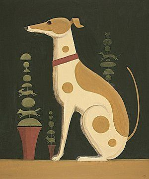 Topiary Dog by Catriona Hall