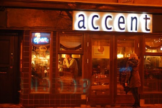 Accent Restaurant and Lounge, Edmonton  8223-104 St.