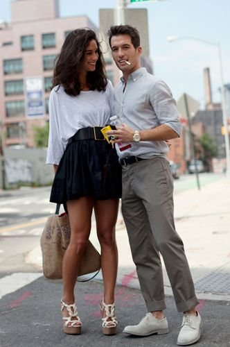 Два сапога – пара. Как одеться с бойфрендом в одном стиле?   Woman.ru