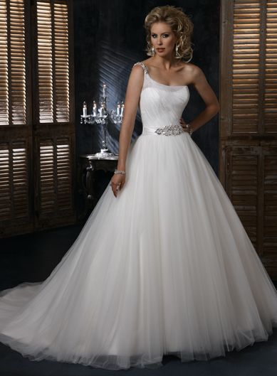 Charming Sleeveless Ball Gown Floor-length wedding dress