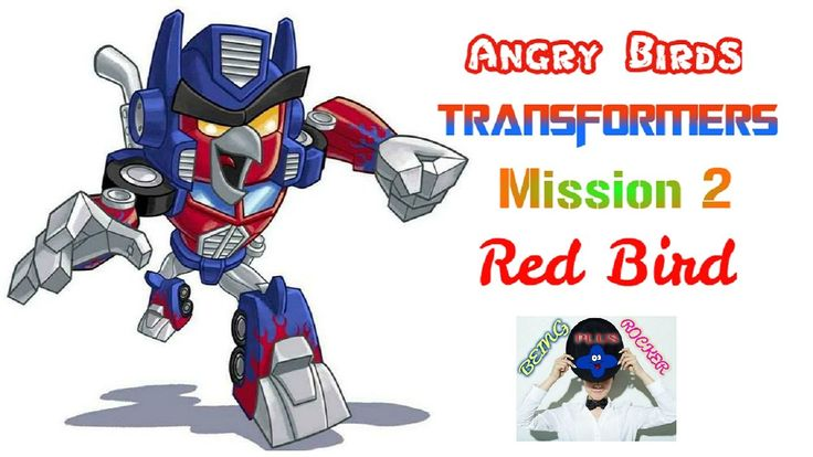 Angry Birds Transformers Mission 2 Character Red
