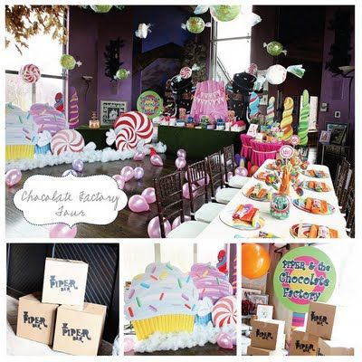 Attention 2 Detail: Willy Wonka Party