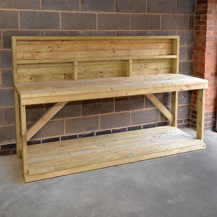 Best 25+ Wooden work bench ideas on Pinterest | Diy ...