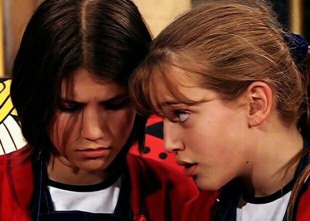 #Chiquititas2000 #Camila Bordonaba y #Luisana Lopilato