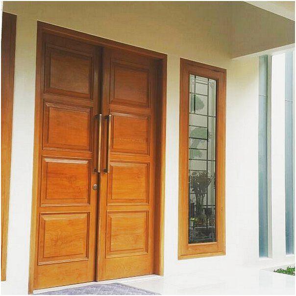 Model pintu rumah 2 pintu rumah minimalis modern
