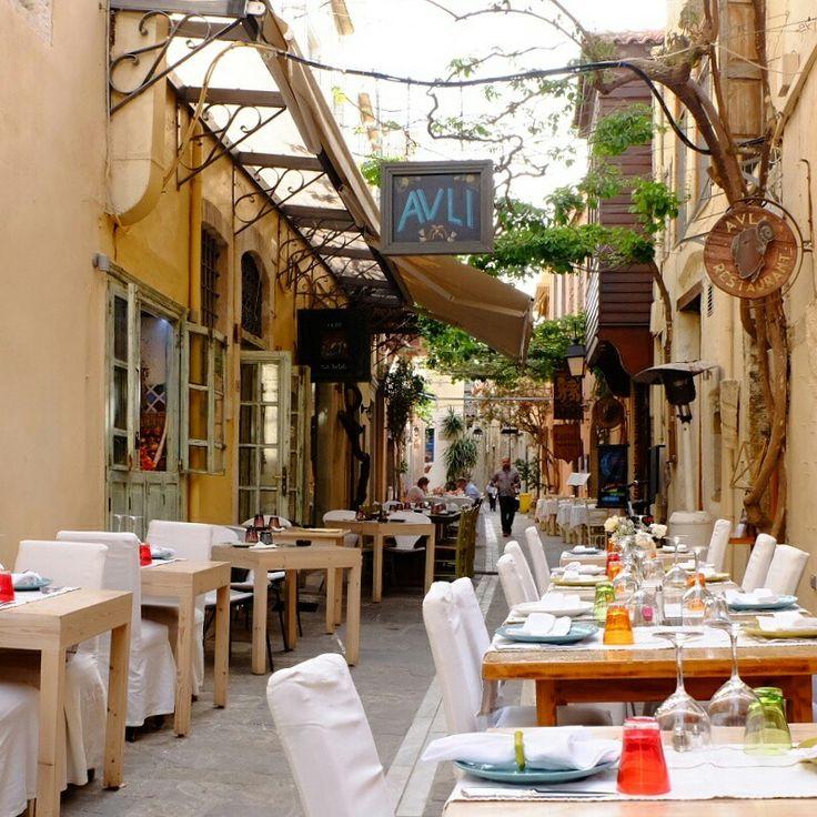 Cafe avli rhetymnon