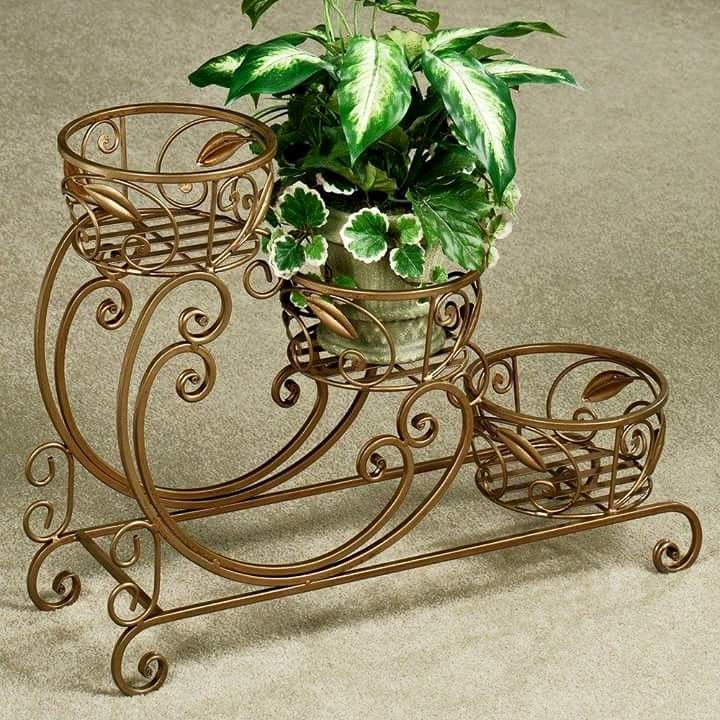 35 best wrought iron plant stands images on pinterest wrought iron garden deco and metal art. Black Bedroom Furniture Sets. Home Design Ideas