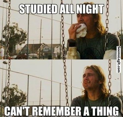 Funny memes When studying last night before the exam... Check more at http://www.seemslegit.com/funny-meems-when-studying-last-night-before-the-exam/