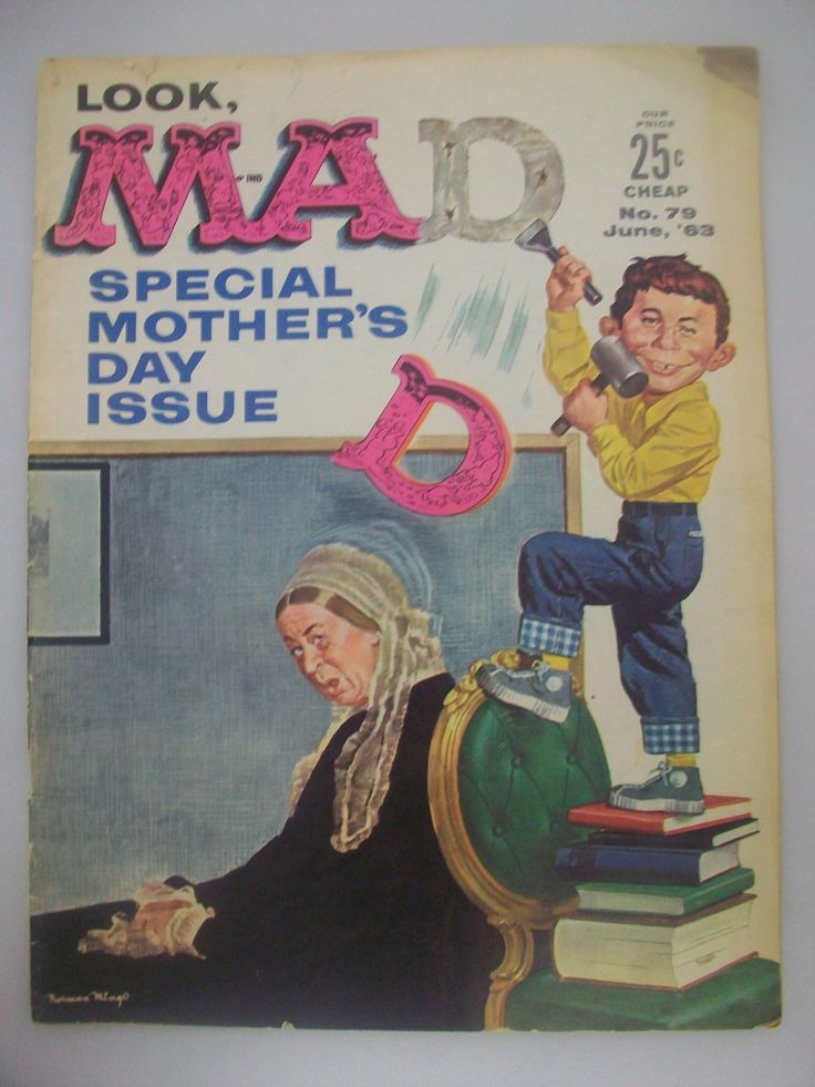 MAD Magazine Special Mothers Day Issue | Mother's Day and ...