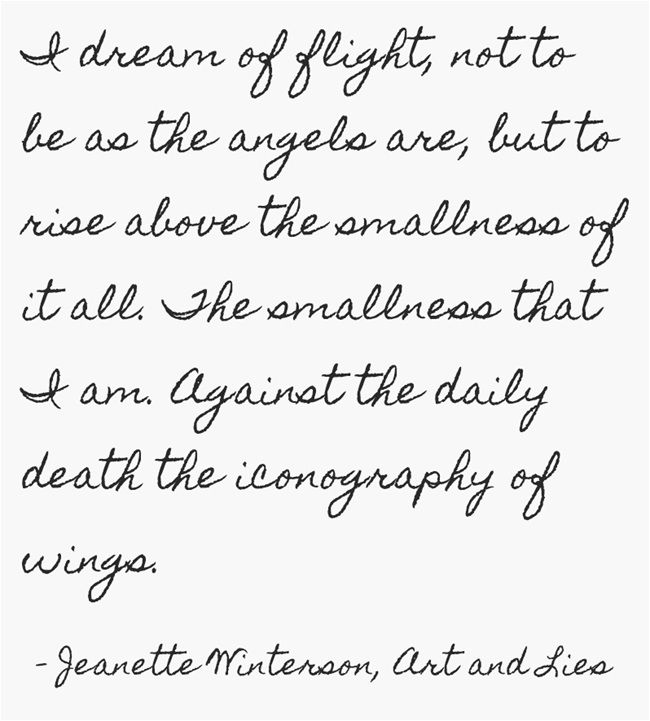 Jeanette winterson on writing about art