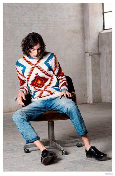 Jaco van den Hoven Models Bershka's Cool Fall Looks