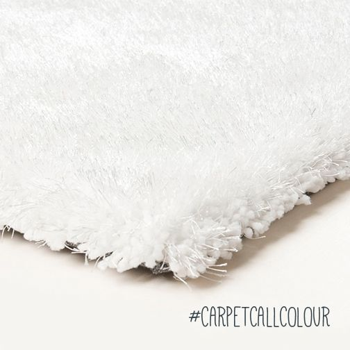 Complete any room with elegance and perfection by adding a white rug.  |  http://www.carpetcall.com.au/blog/5-tips-to-help-you-choose-the-perfect-colour-rug-for-your-home/