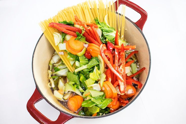 One pot pasta Asia