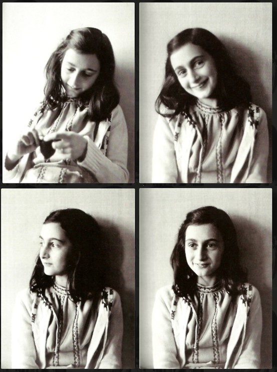 Anne Frank Her story is amazing.. True hero in my eyes