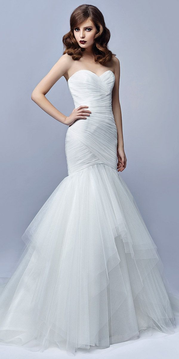 35 best Blue by Enzoani images on Pinterest | Wedding frocks, Short ...