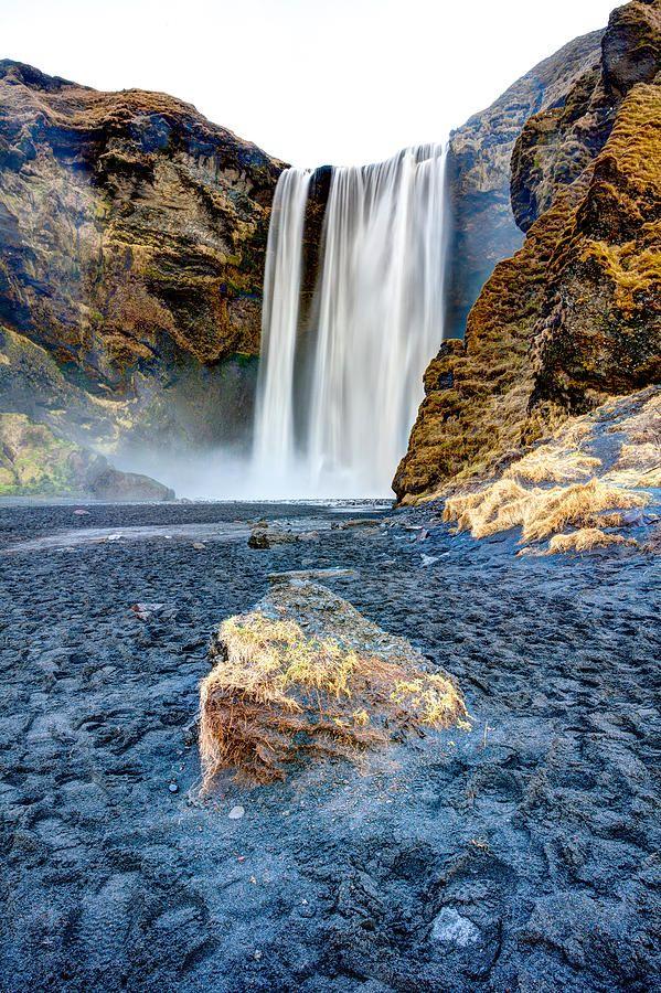 ✯ Skogafoss Waterfall in Iceland