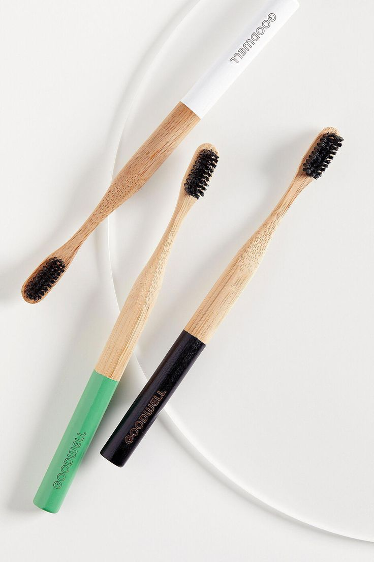 Goodwell Co. Bamboo + Binchotan Toothbrush at Free People, White, One Size Healthy Tongue, Healthy Teeth, Stay Healthy, Healthy Tips, Dental Hygiene, Dental Care, Oral Surgery, Oral Health, Health Care