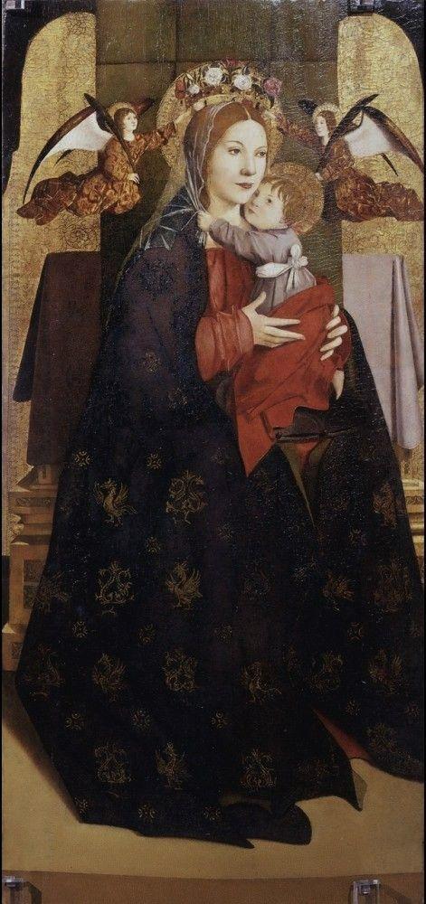 Antonello da Messina | 1430-1479, Italy | Madonna col Bambino, 1470-75 | Uffizi, Firenze