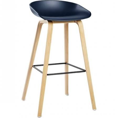 HAY barstool bleu. HAY store in Het Arsenaal.  #hay #barkruk #barstool #furniture