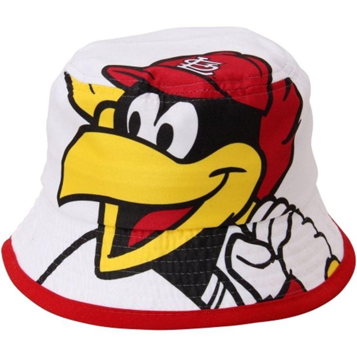 New Era St. Louis Cardinals Infant White Mascot Power Bucket Hat 94aad880ba1