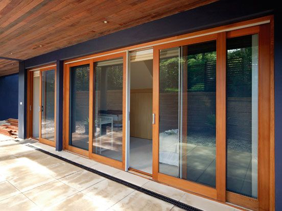 Thinking of timber sliding doors, but haven't quite decided yet.