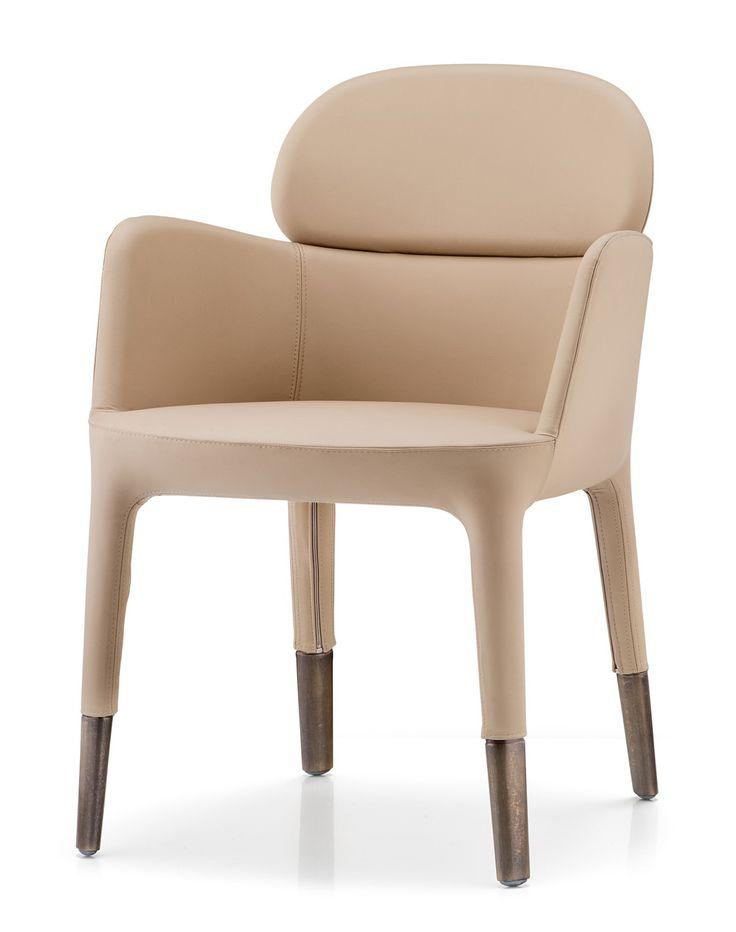Čalouněná jídelní židle Ester 690, výrobce Pedrali