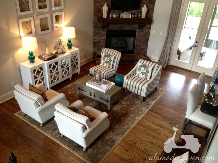 Elegant Alamode   4 Chairs In A Living Room Versus A Couch Part 2