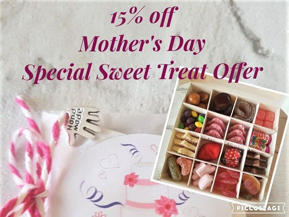 Chocolate Sweet Box Candy Gift Box Mothers Day Birthdays
