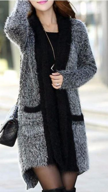 Lace Cardigan, Cardigan Fashion, Look Fashion, Autumn Fashion, Latest Fashion, Fashion 101, Fashion Wear, Trendy Fashion, Fashion Trends