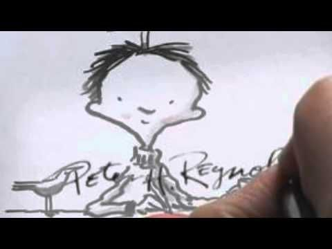 Great bio on Peter H. Reynolds, author and illustrator (6:24)