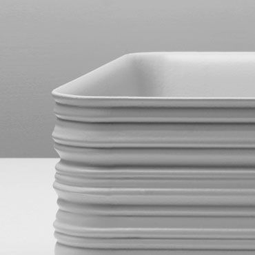 Trace, detail of basin. Design by Veneziano+Team  #GianniVeneziano #LucianaDiVirgilio #VenezianoTeam #Trace #Valdama #product #bathroom #bathroomdesign #sculpture #sign  #industrialdesign #furniture