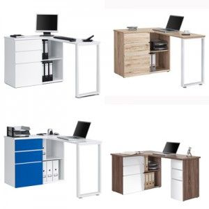lshaped home office writing desk with return home