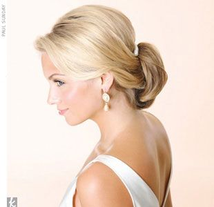 Loosen Up  Ceremony An updo that starts off a little bit loose -- the kind that…