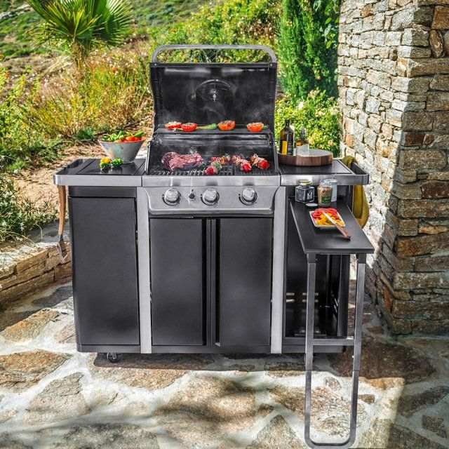 25 best ideas about barbecue blooma on pinterest porte cuisine piscine in - Castorama plaque inox ...