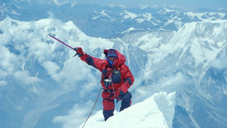 Ed Viesturs describes his climbing experiences on Annapurna. He is the first American to have climbed all fourteen of the world's eight-thousander mountain peaks including the summit of Mt. Everest 7xs without the use of supplemental Oxygen.