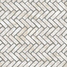Textures Texture seamless | Concrete paving herringbone outdoor texture seamless 05840 | Textures - ARCHITECTURE - PAVING OUTDOOR - Concrete - Herringbone | Sketchuptexture