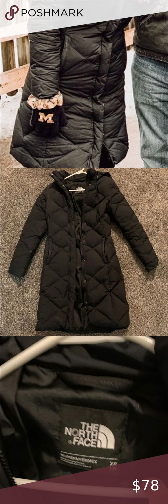 The Northface 500 Down Jacket Great Condition 500 Down Jacket Smoke Free Home No Holes Or Tears Detachable Hood Poc Jackets Down Jacket North Face Jacket [ 1740 x 580 Pixel ]