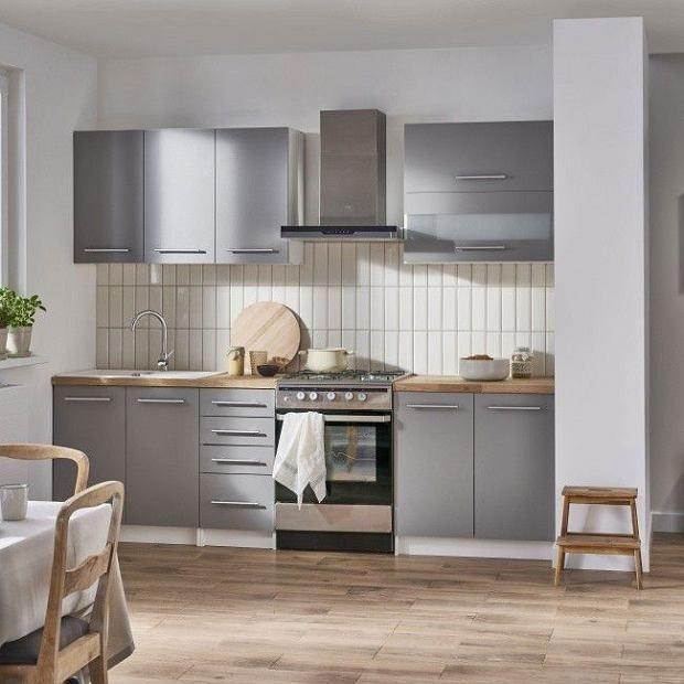 Szare Szafki Kuchenne Kitchen Cabinets Home Home Decor