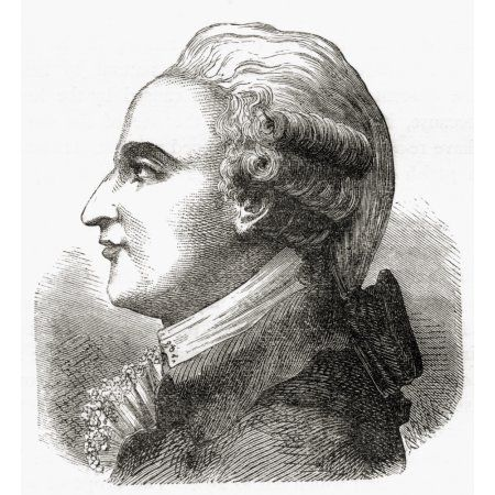 Jean-Pierre Blanchard 1753 1809 French Inventor Pioneer In Aviation And Ballooning First Man To Cross The English Channel In A Balloon 7 January 1785 From The Book Wondeful Balloon Ascents Or The Con