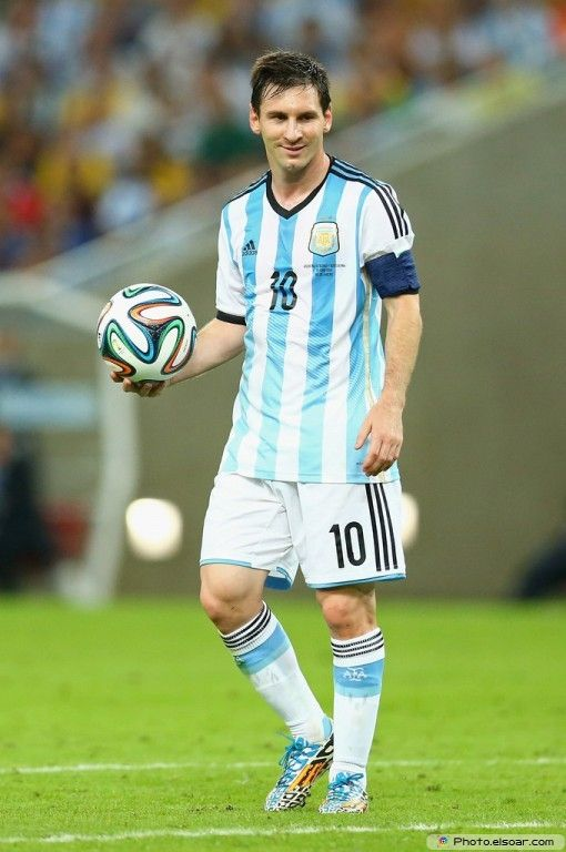 Lionel Messi Argentina 2014 FIFA World Cup Photo Wallpaper M