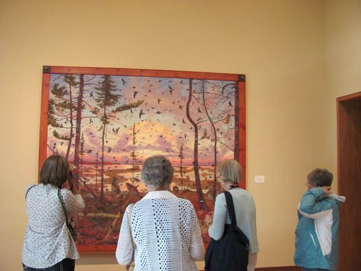 A tour of the Chazen Museum of Art in Madison -just one of the many activities from this year's #CollegeDays.