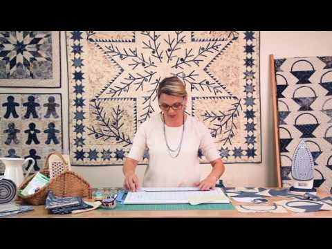 Laundry Basket Quilts - Quilting Window Episode 2 - YouTube / Edyta Sitar's really good  tutorial about how to make basket block / including great part about bias handles/. Love it :-)