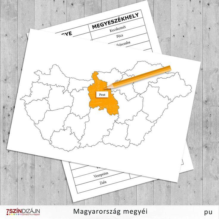 Magyarország megyéi - tanulás játékosan