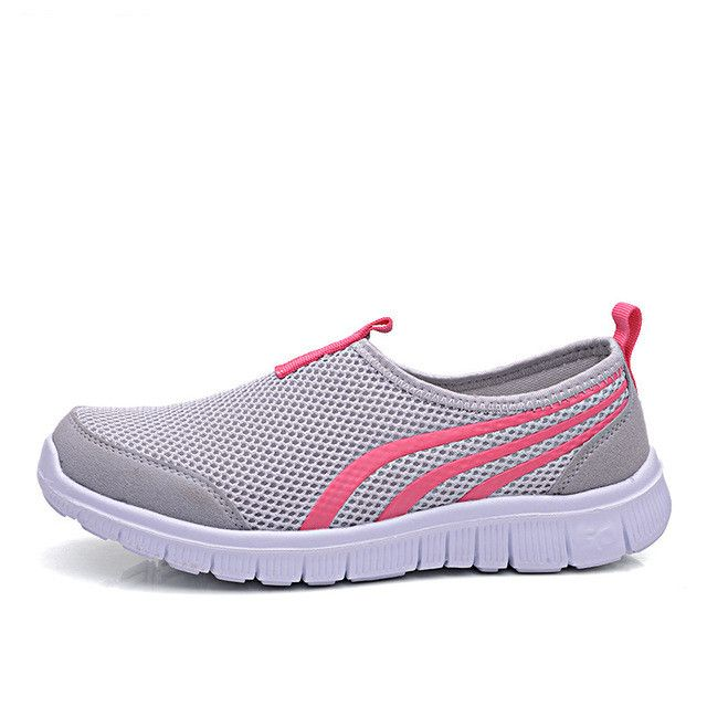 Cute Cartoon Giraffe Womens Mens Loafers Running Shoes Breathable Mesh Outdoor Sport Walking Shoes