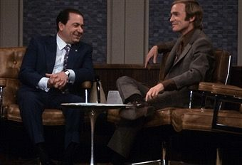 1971, mob boss Joseph Colombo at the Dick Cavett show. Carlo Gambino must've had nightmares when he saw this