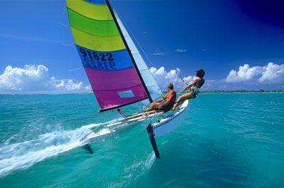 .Hobie Cat 16, Adventure, Favorite Boats, Sports, 19 Hobie, Canvas, Fun Fun, Catamaran, Cat Sailing